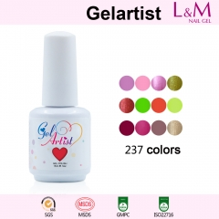 【Gelartist Brand】237COLORS Series Soak-off UV Gel Nail Polish IDO Gelish