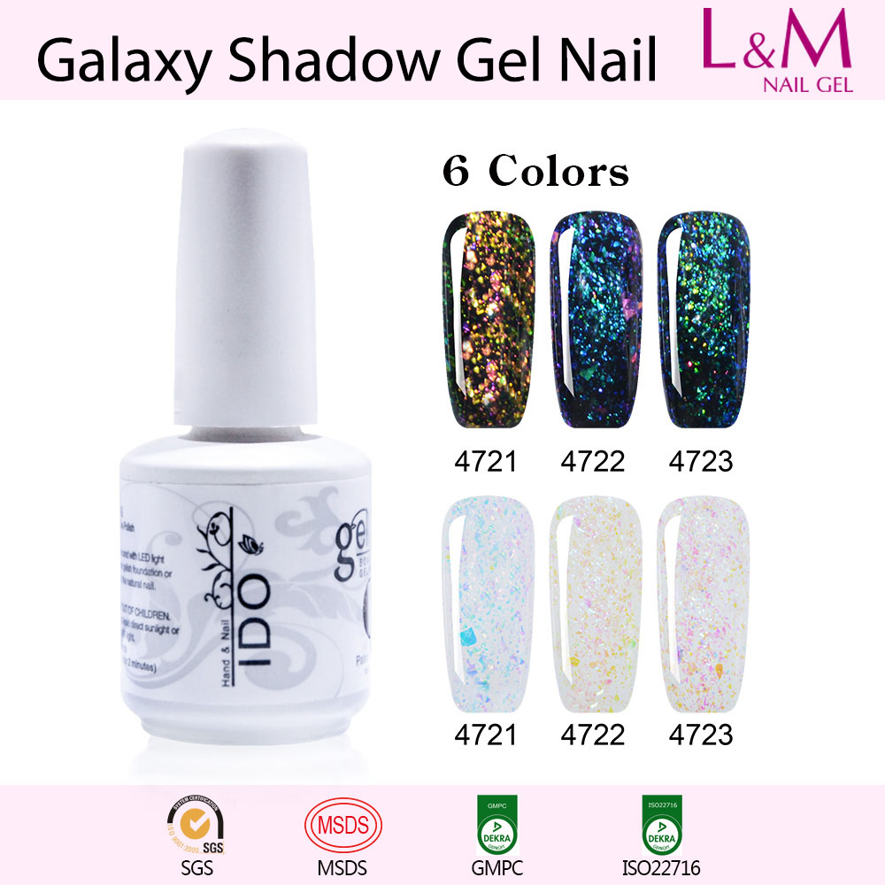 Gelaxy Gel Nail Polish: 【Galaxy Shadow Series】Soak-off UV Gel Nail Polish