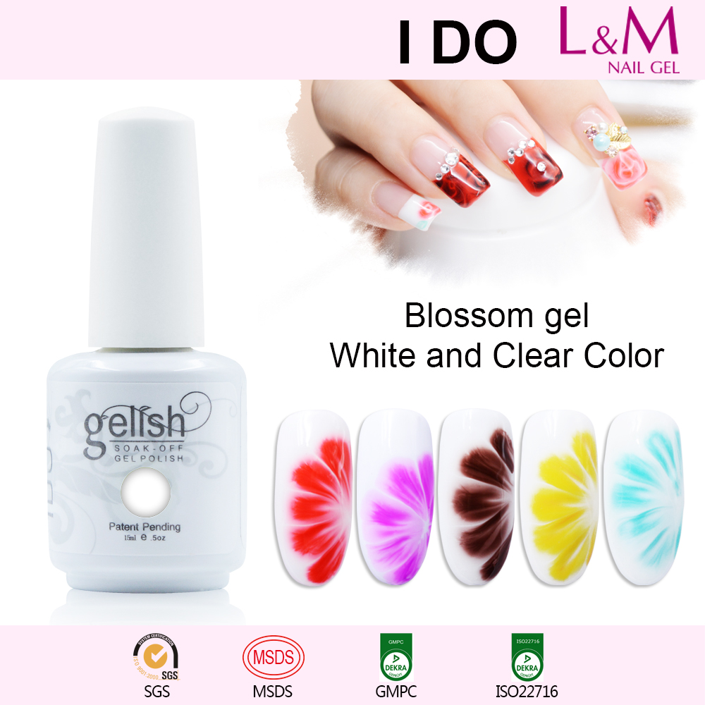 Blossom Gel Uv Nail Gel Polish Blooming Flower Uv Gel Lacquer